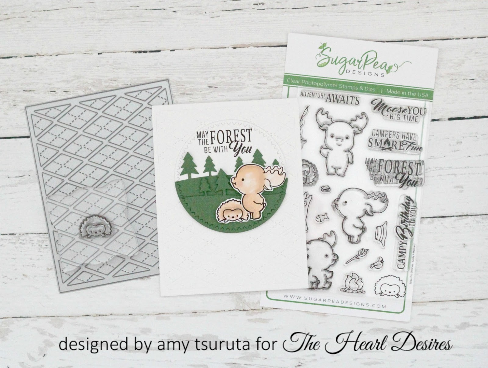 Hello And Happy Monday! Itu0027s Amy Here With You Today Sharing A Fun Project  That Features SugarPea Designs. Have You Seen The Easily Au0027Mooseu0027d Set?!