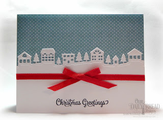 Our Daily Bread Designs Stamp Set: Christmas Card Verses, Custom Dies: Neighborhood Border, Paper Collection: Christmas 2014