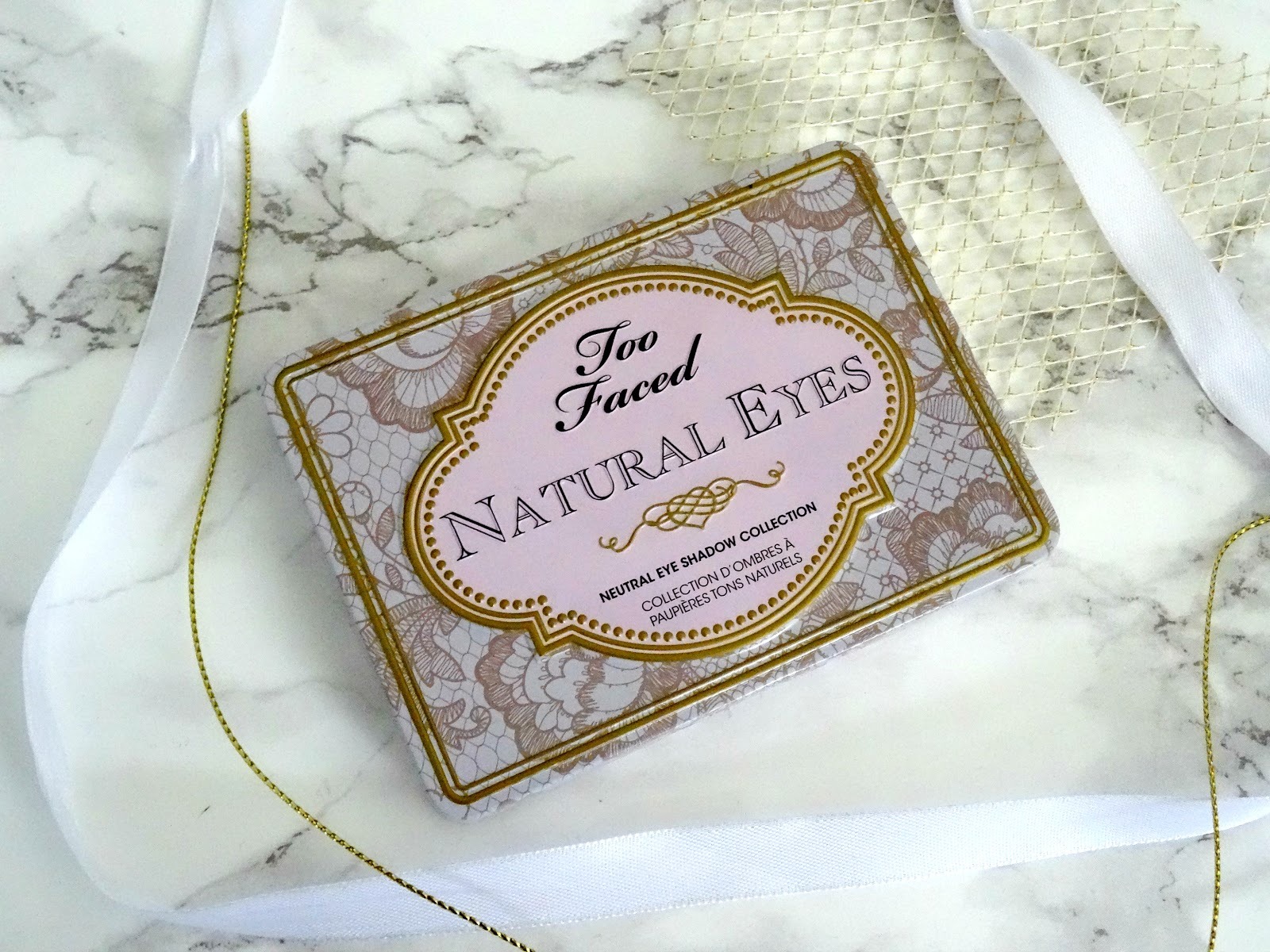 Too Faced Natural Eyes Palette Packaging