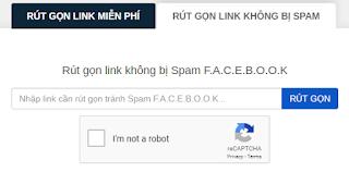 Rút gọn Link không bị Spam trên Fecebook