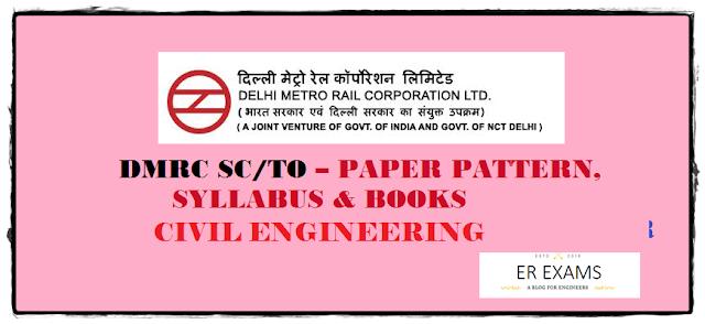 DMRC JE Civil Paper Pattern