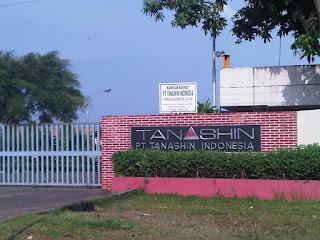 Loker Terbaru Cileungsi PT Tanashin Indonesia Wilayah Bogor