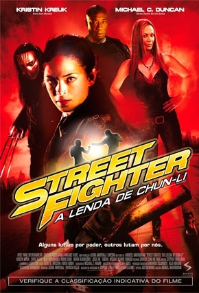 Street Fighter - A Lenda de Chun-Li poster e capa torrent download