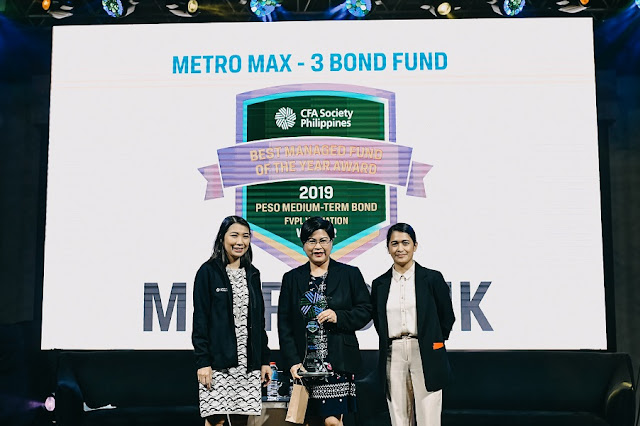 Metrobank bags Best Managed Funds of the Year award 2019