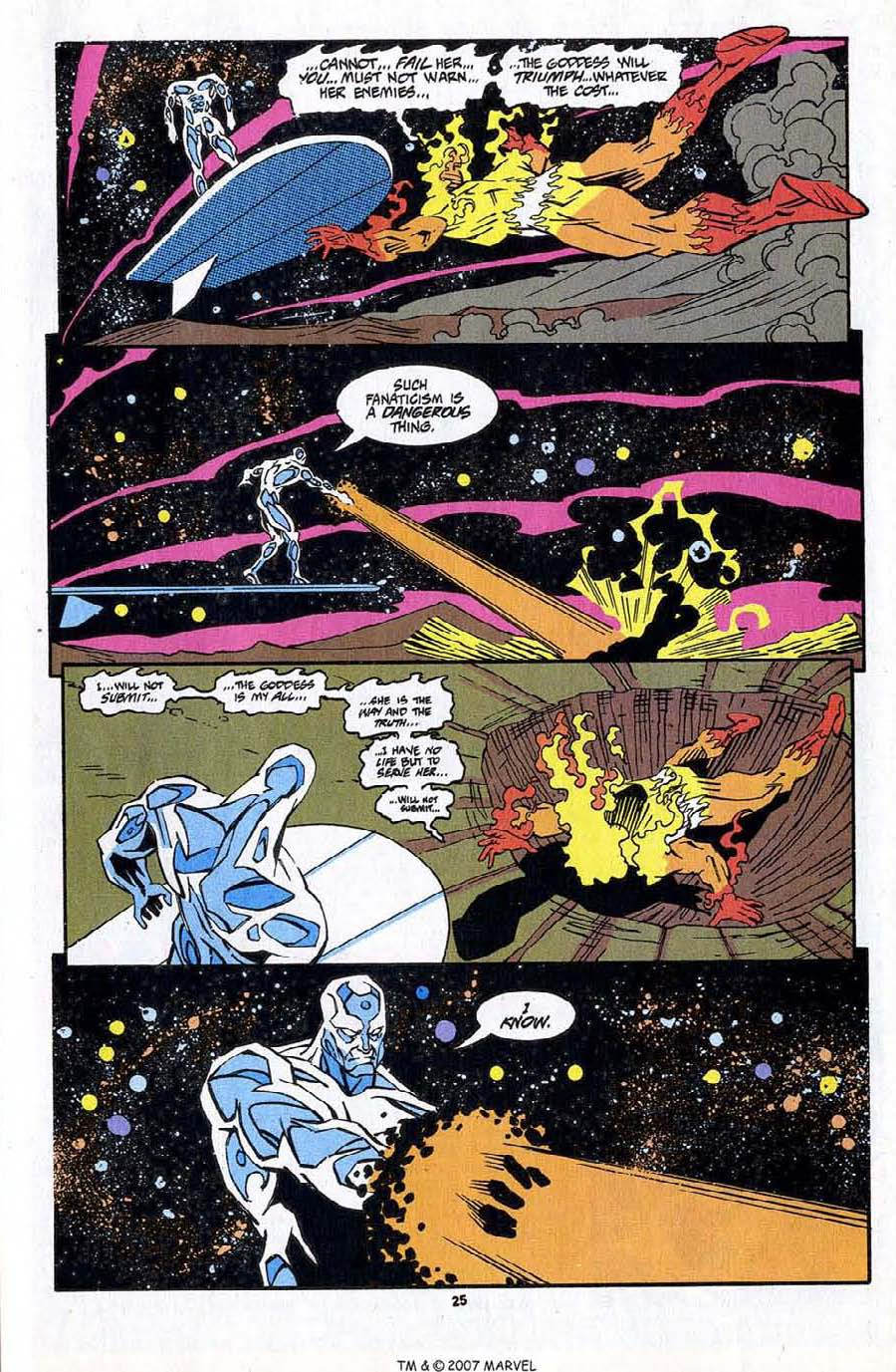 Read online Silver Surfer (1987) comic -  Issue #83 - 27