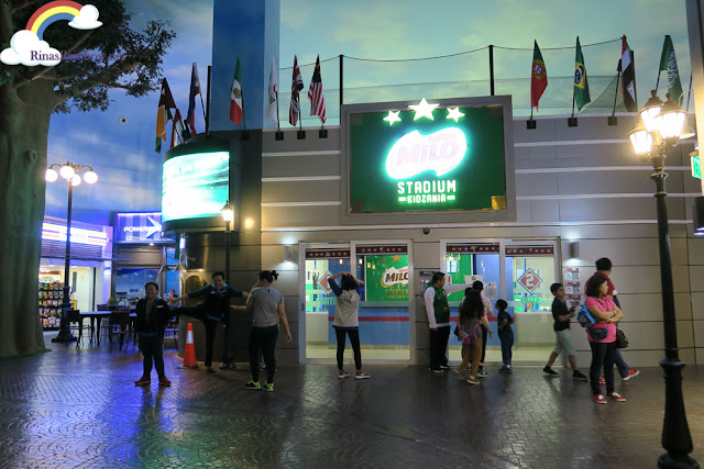 Kidzania Manila Milo Stadium