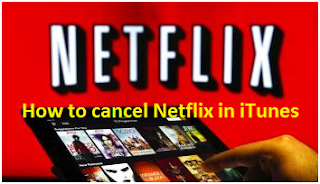 How to cancel Netflix in iTunes?