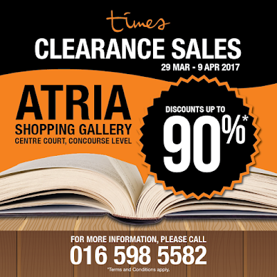 Times Bookstores Malaysia Clearance Sale Discount Promo