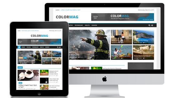 Free Download ColorMag WordPress Magazine Theme