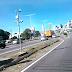 Rodovia BR-101 com boas condições de tráfego em Natal