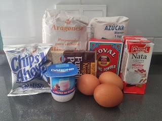 Bizcocho De Nata Y Chocolate