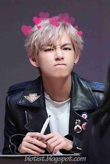 Cute Photos of V BTS (Kim Taehyung Bangtan Boys) 2016