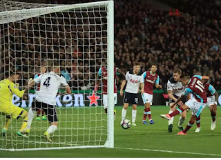 West Ham Ruins Tottenham's Title Aspirations