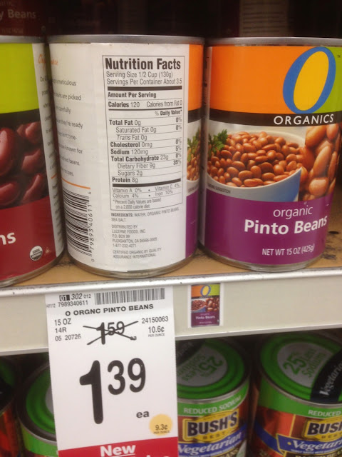 Pinto Beans, Organics - Safeway