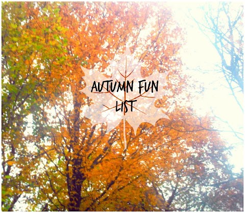 Autumn Fun List