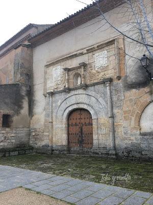 Museo de Sancti Spiritus Toro fachada de la iglesia