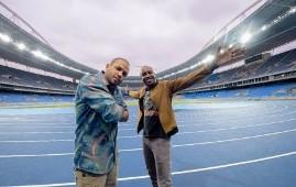 Thiaguinho e Projota cantam tema das Olimpíadas 2016