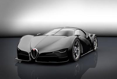 mobil masa depan Bugatti palin keren