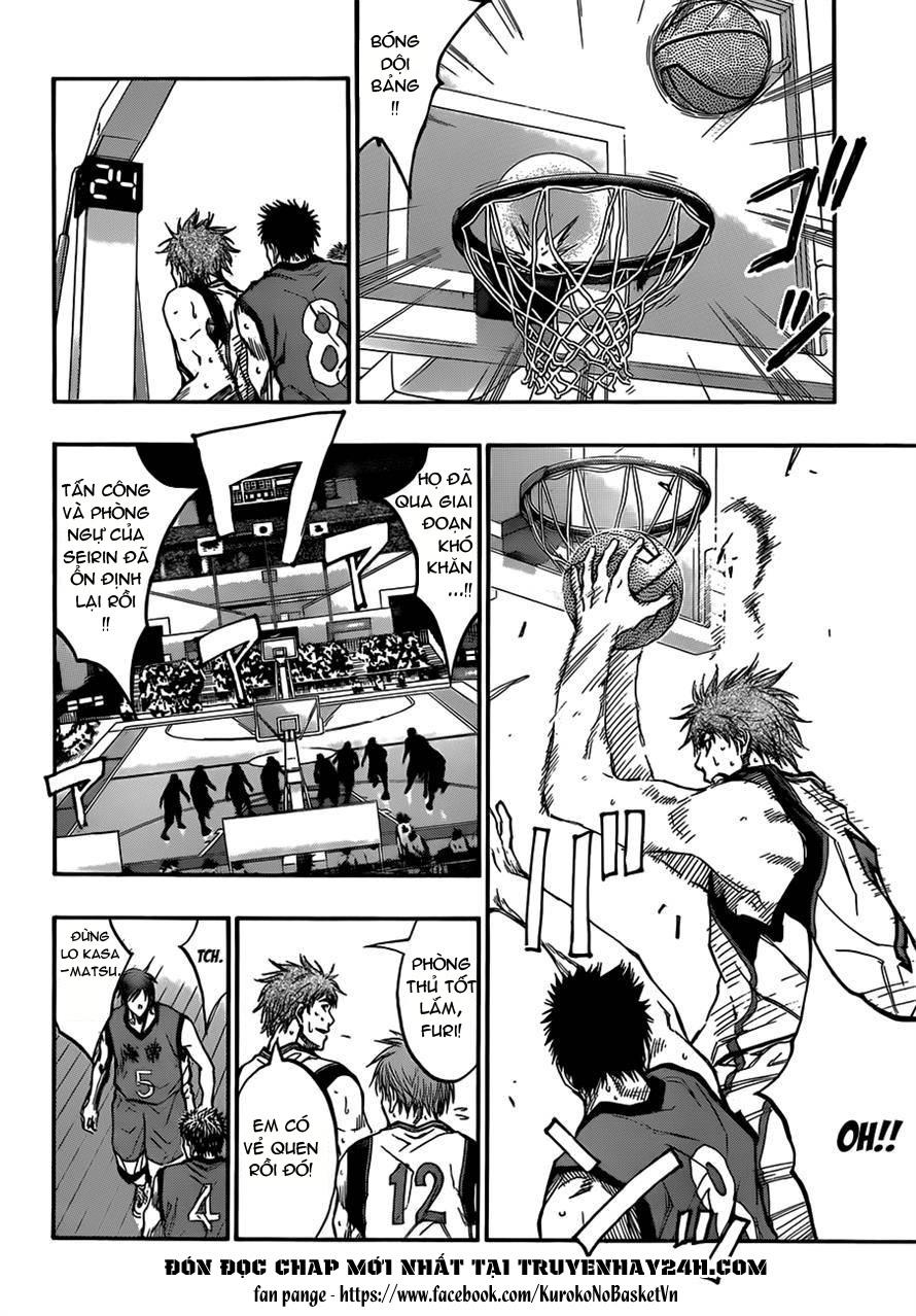 Kuroko No Basket chap 187 trang 12