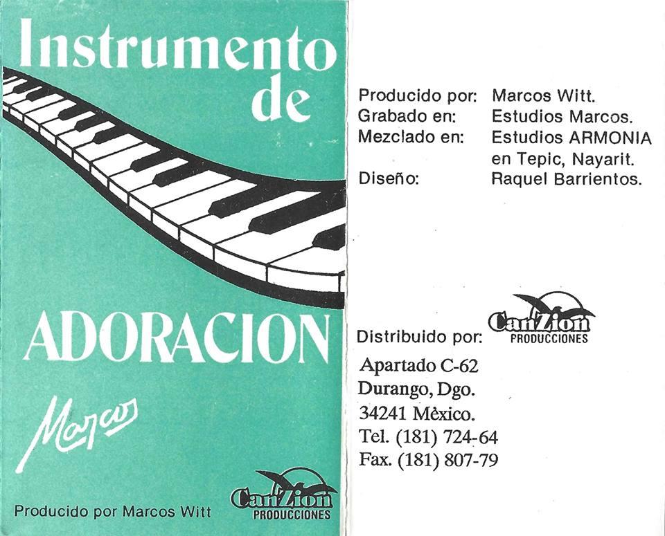 ThePenguinMex Music and Books: Instrumento de Adoración (1987-1991 ...