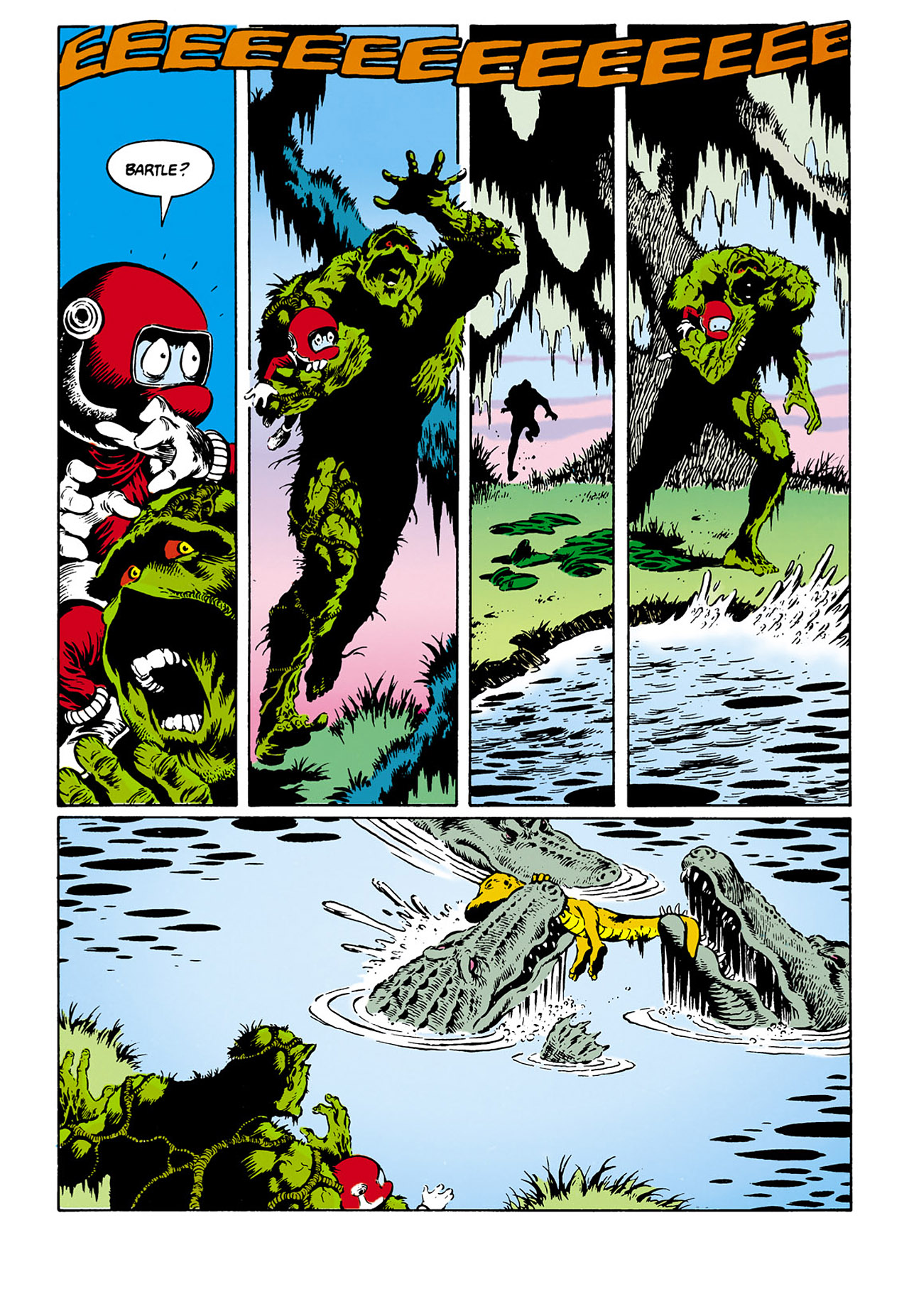 Swamp Thing (1982) Issue #32 #40 - English 19