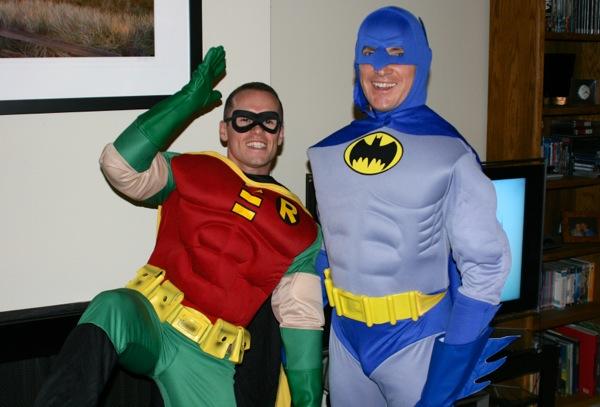 Halloween Batman Robin costumes