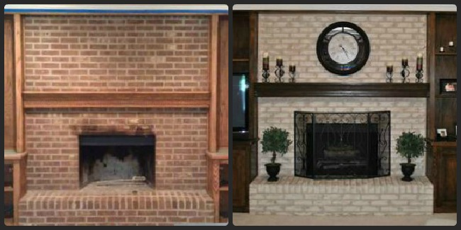 This Brick Fireplace Resurfacing Endeavor I Decided To Take On Was Incredibly Easy Even Though Had Researched All About Product And Looked Through