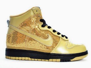 Women Love Sequin Glitter   Womens Glitter Nike SB Dunk High Tops ... 89903ebd6