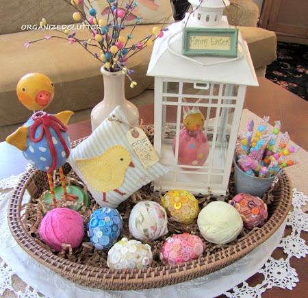 Easter Basket Vignette