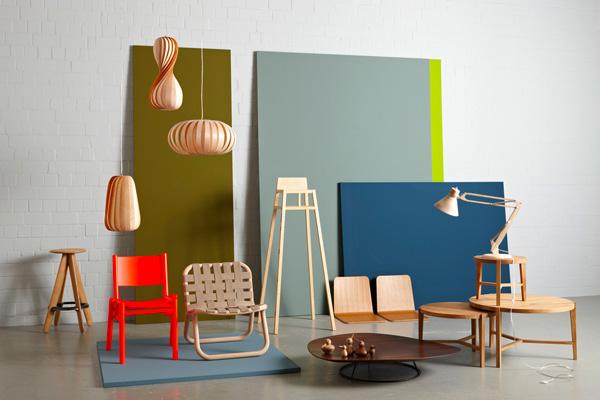 Lounge Stuhl Eschenholz Optische Leichtigkeit
