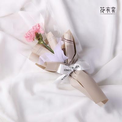 Kertas Buket Bunga / Flower Bouquet Wrapping Paper (Seri NS-002)