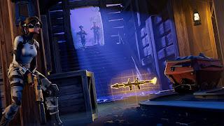 Fotograma del videojuego Fortnite Battle Royale