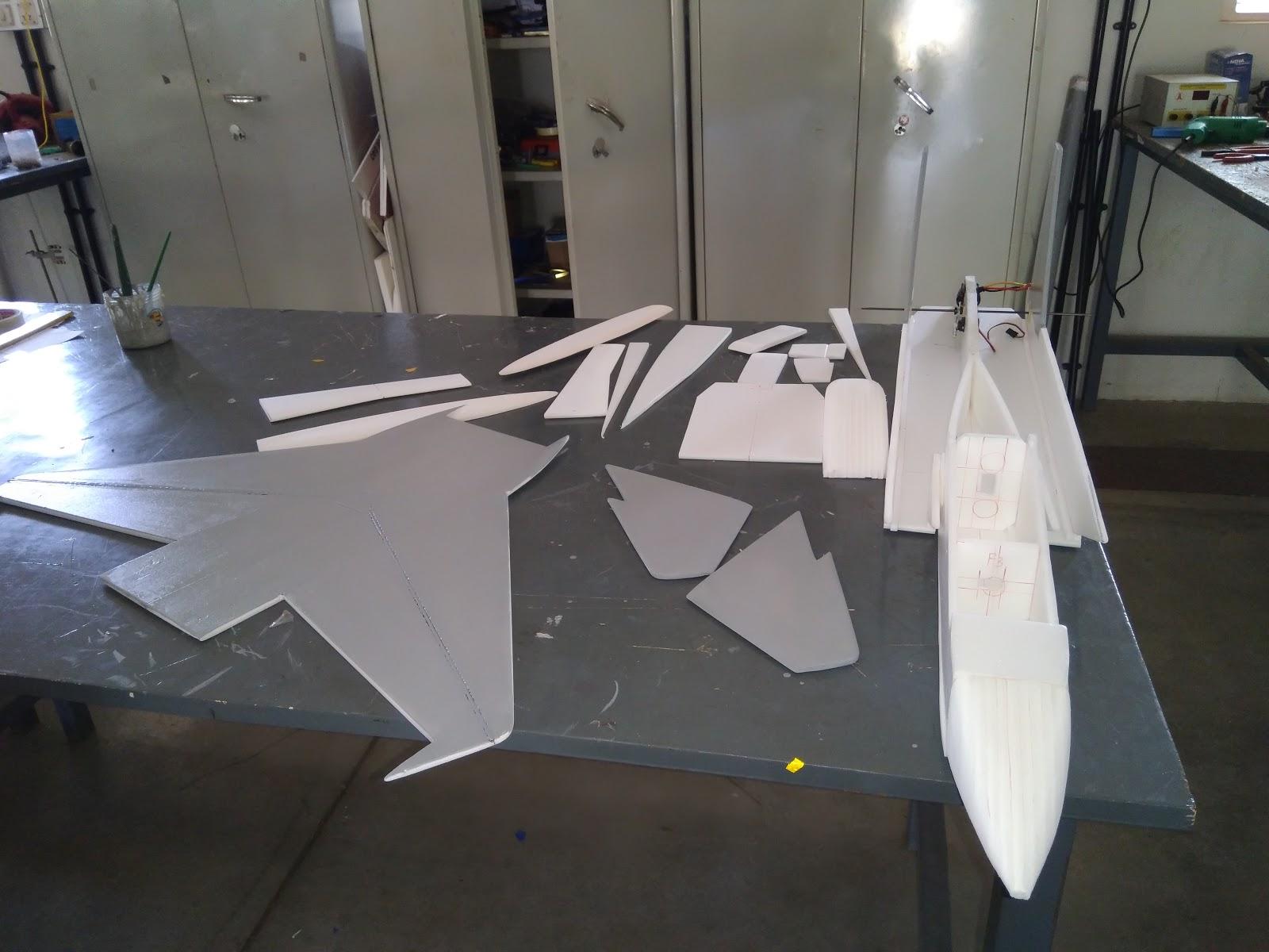F15 Eagle - Depron Foam | Gforce-RC Planes