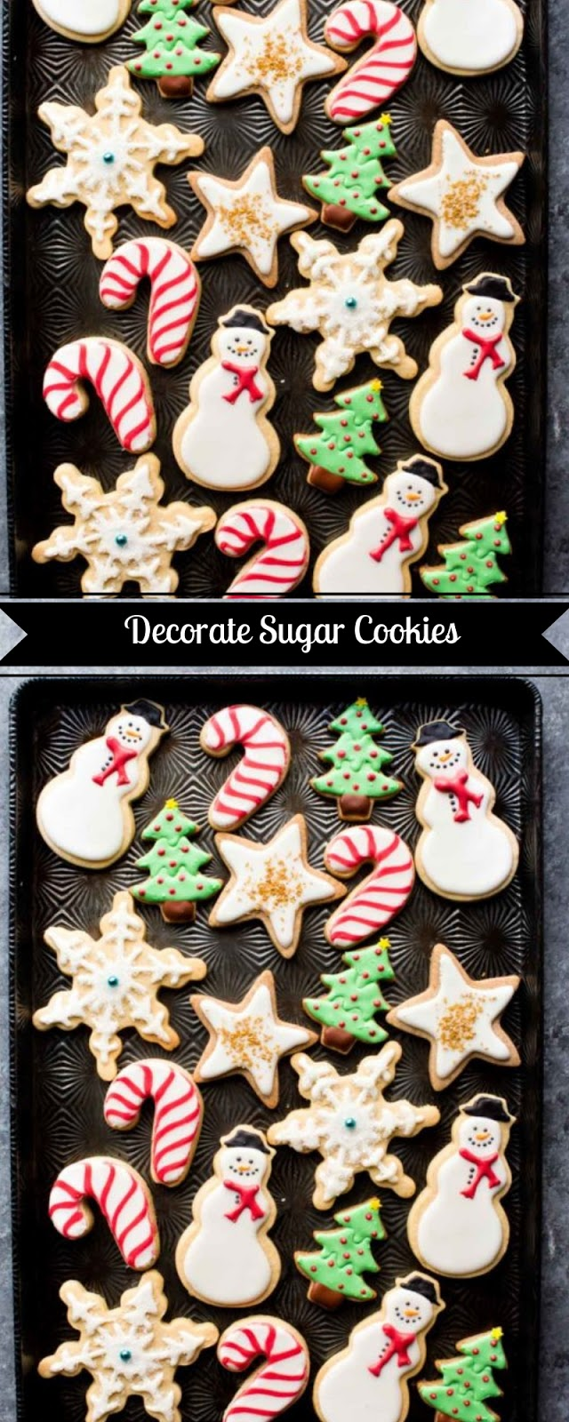 Decorate Sugar Cookies