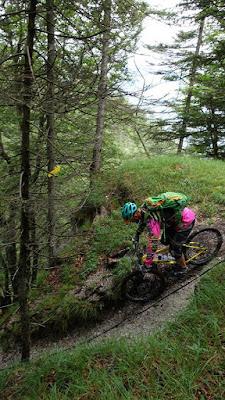 MTB Kundl Schönberger Joch - Bracher Joch 1313 m.ü.A. Mountainbike Tour