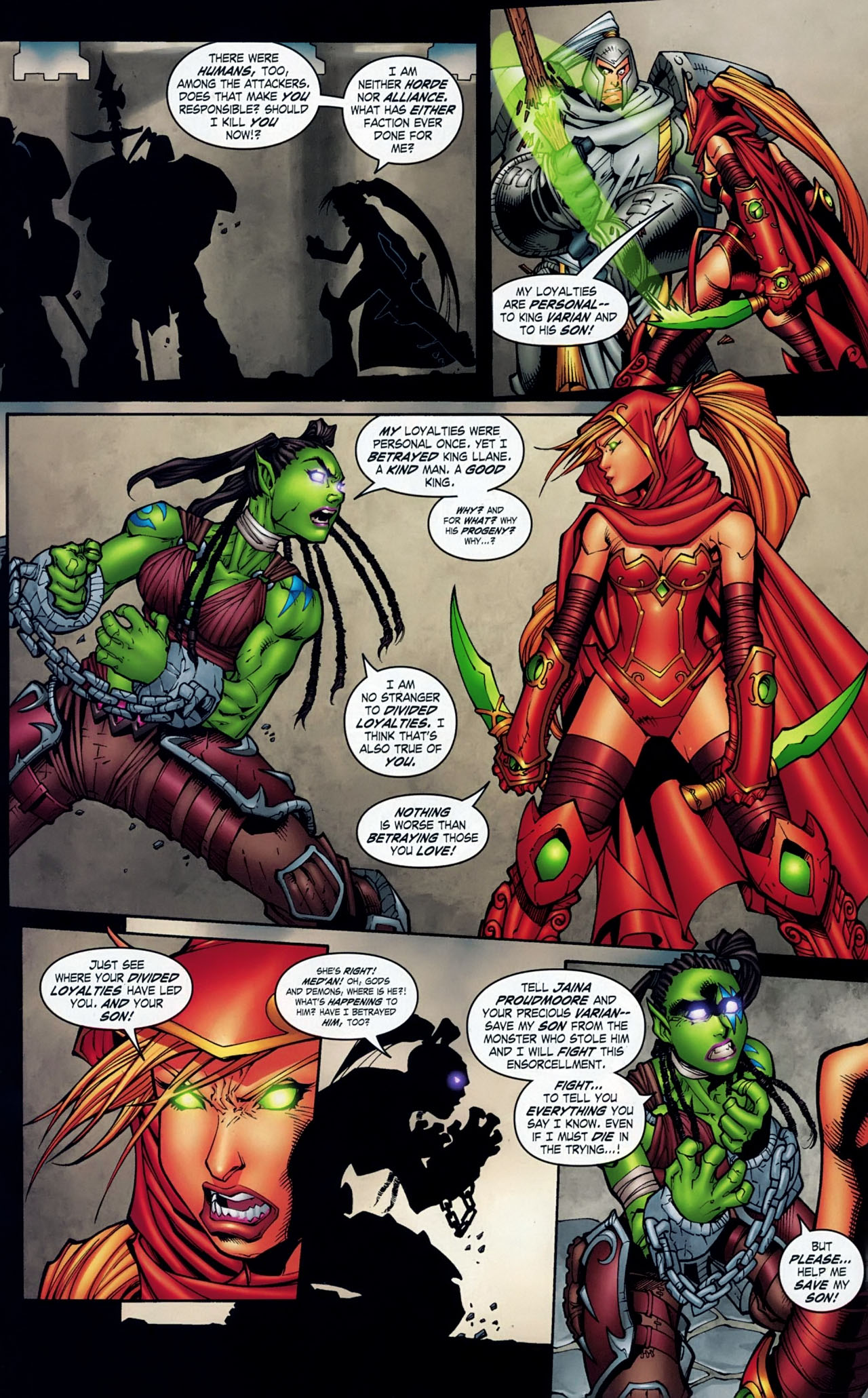 Read online World of Warcraft comic -  Issue #18 - 19