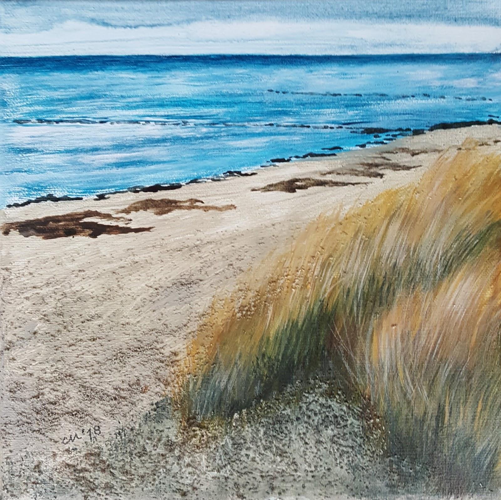 Daily Painting Carola Mehring 22112018 Am Schwarzen Busch Auf