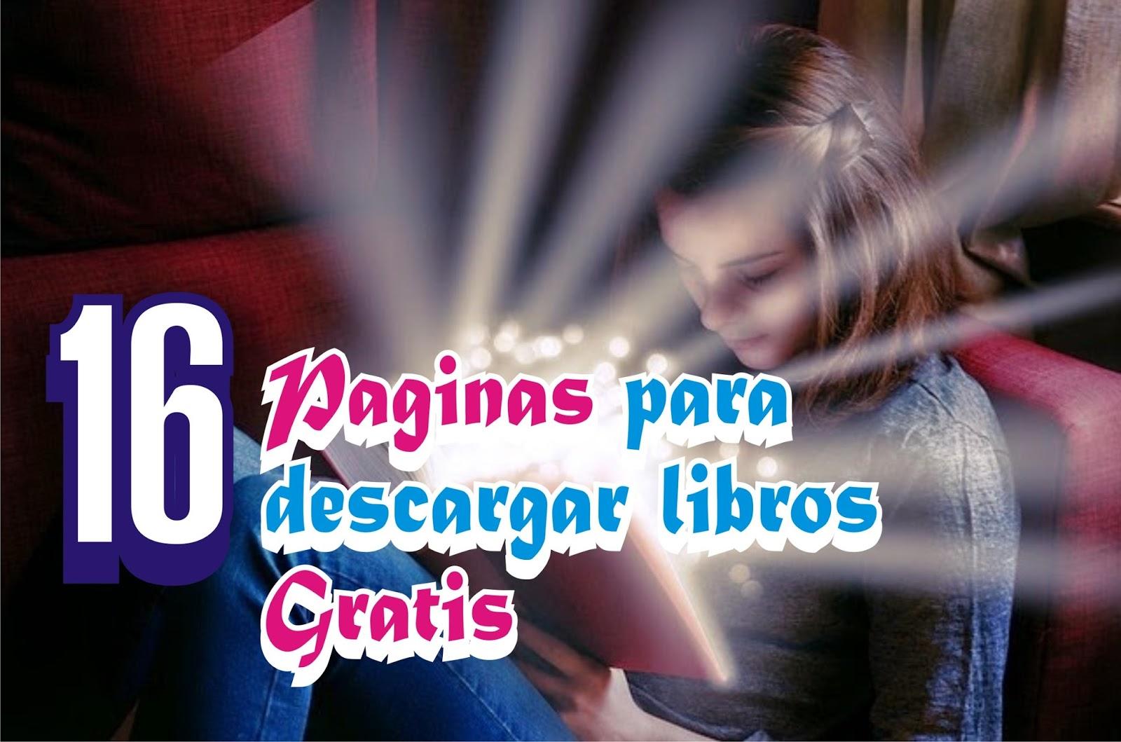 16 Sitios Para Descargar Libros Gratis EnPDF, DOC, EPUB