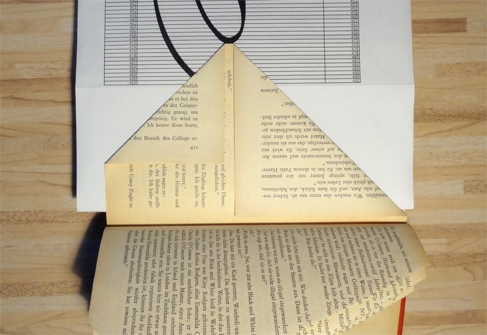c90ff770c60b Steffi's Hochzeitsblog: DIY: Bücher falten