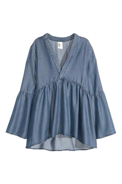 H and M Lyocell Tunic