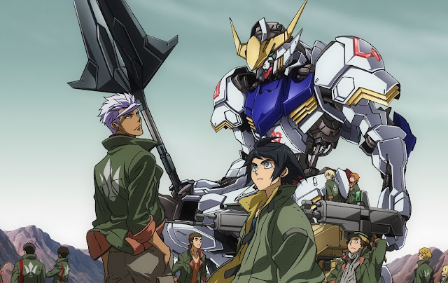 Gundam Iron Blooded Orphans Season 1 Sub Indo