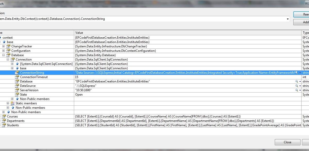 Muhammad Shujaat Siddiqi: Entity Framework Code First
