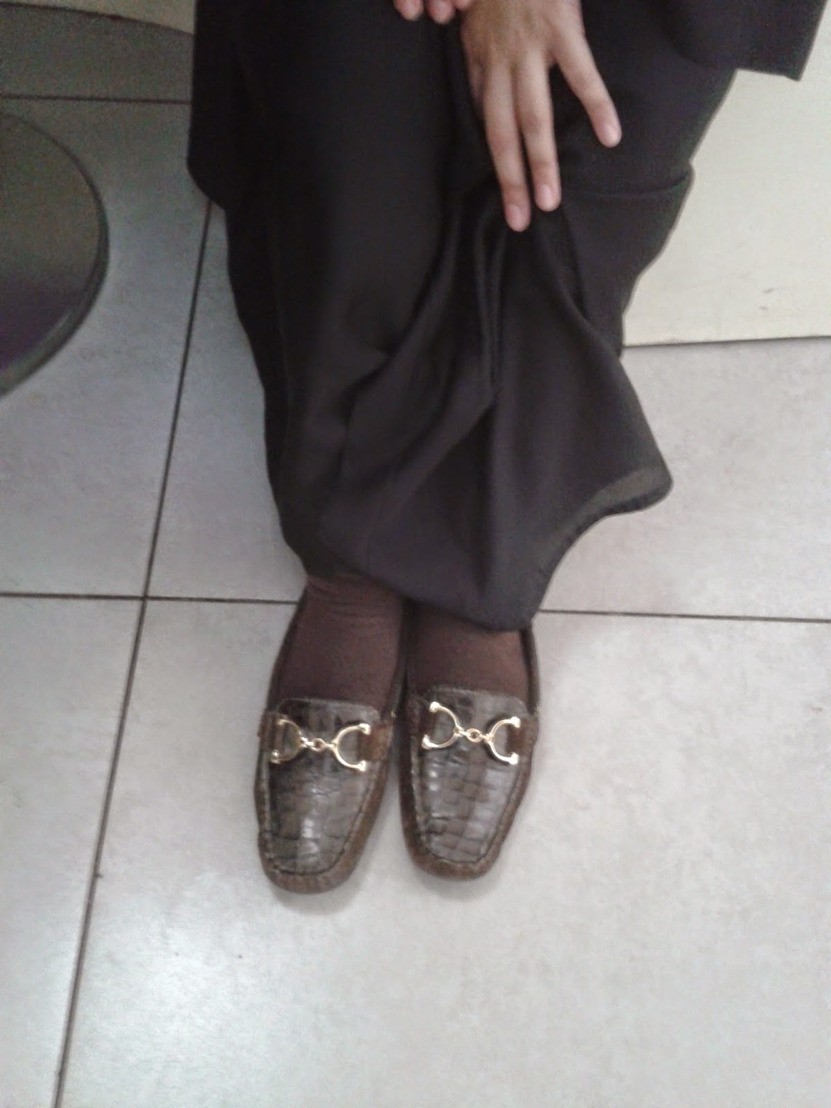 leather flats Shoes of Saudi Arabia Dhahran Mall blog