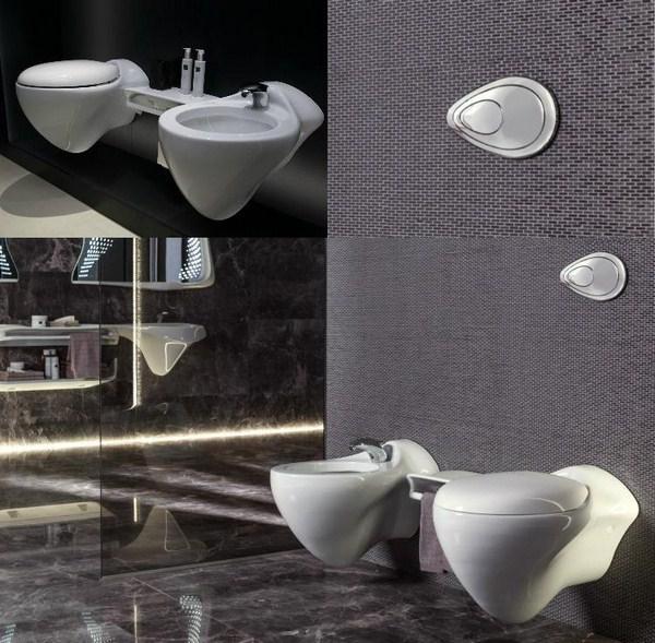 Bathroom Design Zaha Hadid Noken Vitae Bidet Toilet