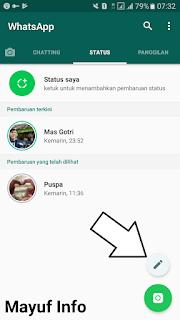 Cara Membuat Status Tulisan Unik Dan Keren Dengan Background Di Whatsapp