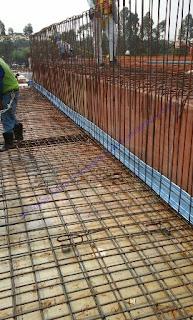 Waterstop PVC tersedia dalam beberapa jenis dan ukuran