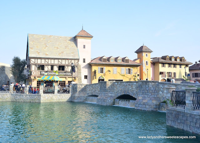 Riverland looks like a beautiful village in France!