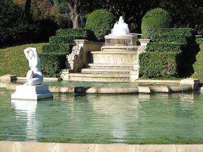 Pebralbes Gardens in Barcelona