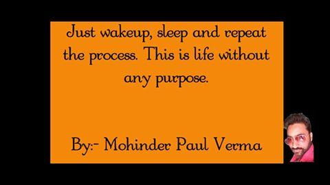 Making Self Success - Purpose of Life