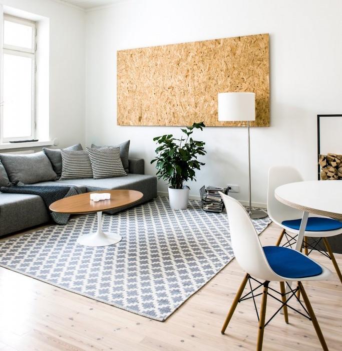 Una pizca de hogar decorando un piso de soltero for Decoracion piso soltero